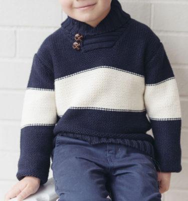 button knit jumper